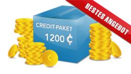 Credit Paket - 1200 Credits