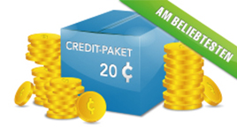 Credit Paket - 20 Credits