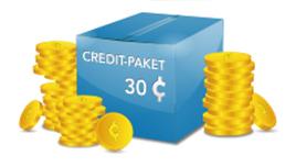 Credit Paket - 30 Credits