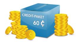 Credit Paket - 60 Credits